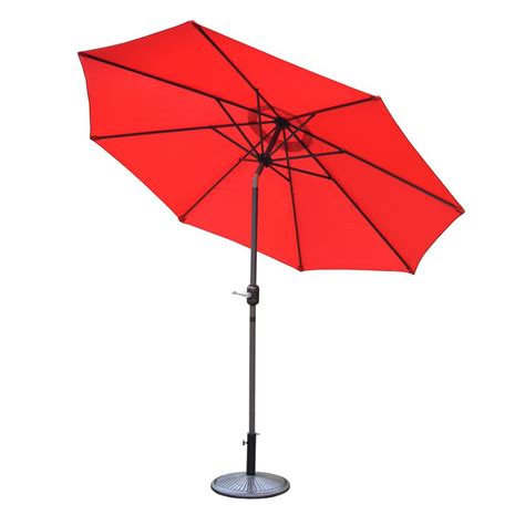 9 Ft Patio Umbrella 9 Ft Market Patio Umbrella In Y99151 The Home Depot