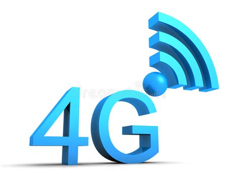 mobile connection 4g mobile connection symbol stock image image 35197421