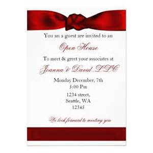 business inauguration invitation card sle 20 best images about open house business invitations on