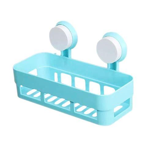 Tempat Sabun Dan Sponge Gantung Kamar Mandi Dapur Hkn036 0dkk jual homestuff untuk tempat sabun kamar mandi dan dapur rak persegi serbaguna biru