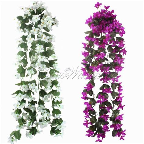 hanging flower garden 10pcs artificial flowers hanging orchid