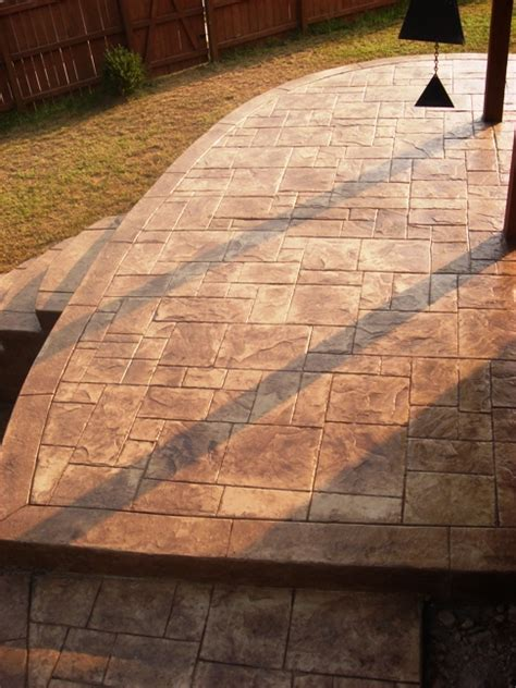 Decorative Concrete Sting by Ashler Slate