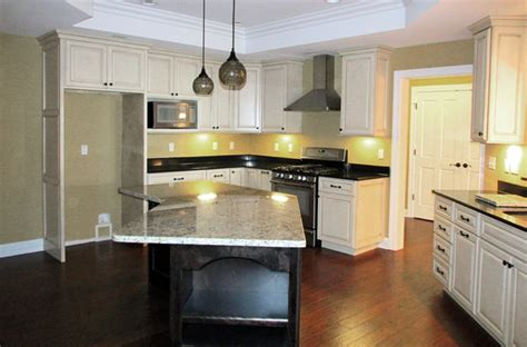 two tone maple kitchen cabinets two tone kitchen painted maple and espresso traditional kitchen st louis by procraft