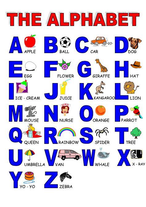printable english alphabet pronunciation alphabet englishlearning1