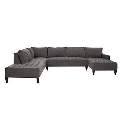 z gallerie sectional 3 piece sectional sofa chaise vapor collection z