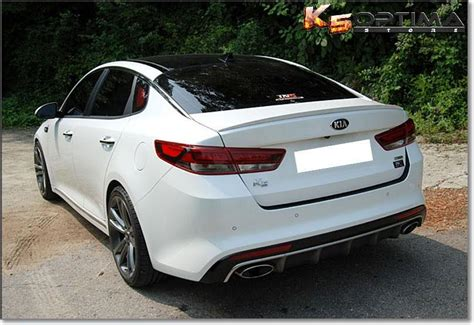 Kia Optima Modded K5 Optima Store 2016 2018 Kia Optima Painted Trunk Spoiler
