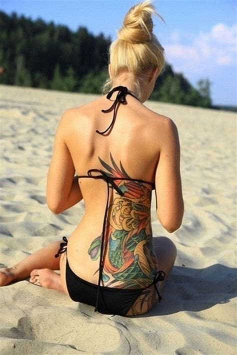 tattoo body female 100 back tattoo ideas for girls with pictures meaning