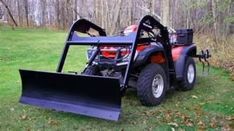Garden Accessories For Atv Atv Snow Plow Attachment Hydraulic Atv Plowing Accessories