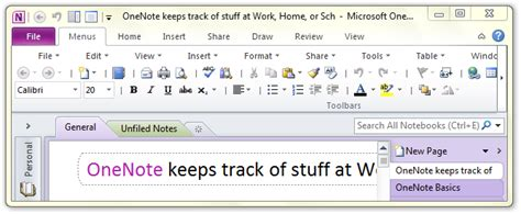 where is templates in microsoft onenote 2010 2013 and 2016