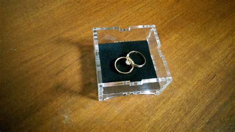 Kotak Cincin Ukuran Sedang jual kotak cincin ring box transparan e source