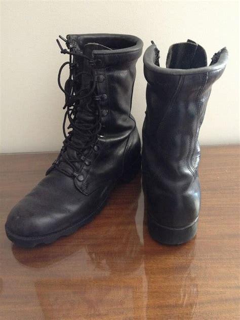 badass mens boots vintage black biker badass leather boots mens 8 5 womens