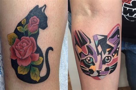 cat tattoo buzzfeed 26 totally purrr fect cat tattoos