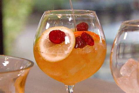 Barefoot Contessa Cocktail Party sparkling sangria recipe michael chiarello food network