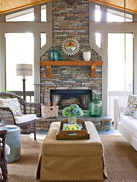 buy better homes and gardens fireplace design decorating over the fireplace ideas