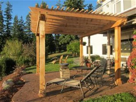 Pergola Sted Concrete Patio Pictures And Photos How To Build A Pergola On Concrete Patio