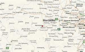 map of mercedes mercedes argentina location guide