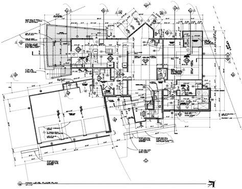 professional floor plans main floor plan michael grogan architect