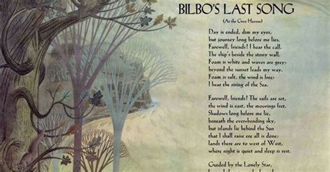 bilbos last song 0091884888 bilbo s last song the lord of the rings high fantasy hobbit and bbc
