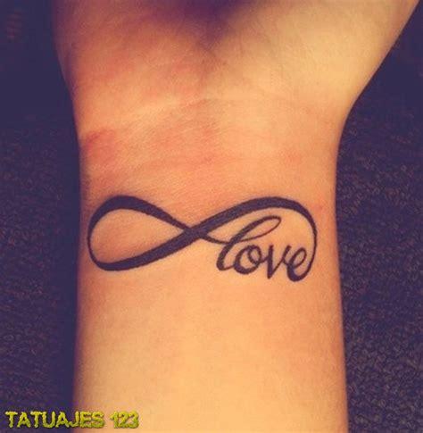imagenes de tatuajes de infinito en la muñeca infinito amor en la mu 241 eca tatuajes 123