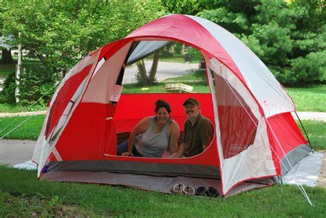 Coleman Sundome 6 Person Tent Redwhite gear review coleman sunlight ridge tent ozarks walkabout