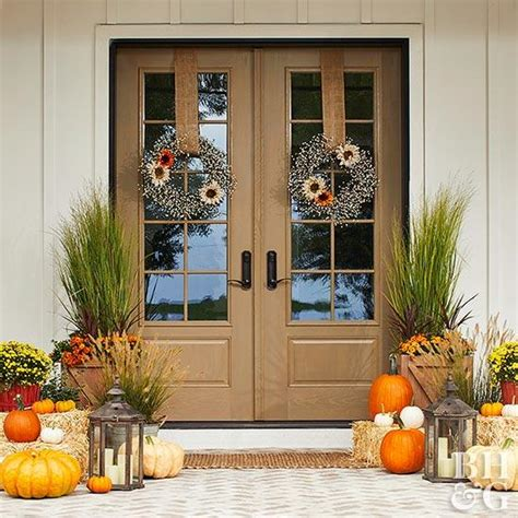 Decorating Your Front Door For - how to decorate your front door for fall better homes