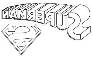 Superman Logo Coloring Pages 28 Images Printable Superman Logo Coloring Pages