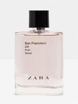 Parfum Zara San Francisco zara san francisco 250 post zara cologne un