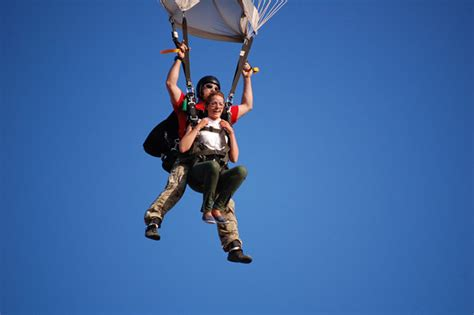 parachute dive what should you wear when you are skydiving