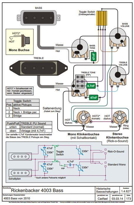 rickenbacker 4003 wiring schematic wiring diagram with