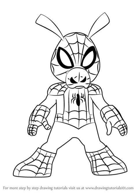 learn to draw marvel s spider learn to draw your favorite spider characters including spider the green goblin the vulture and more licensed learn to draw books ultimate drawing ankaperla