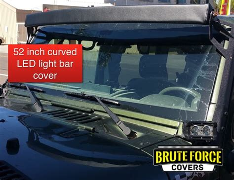 52 Inch Curved Double Row Led Light Bar Cover Brute