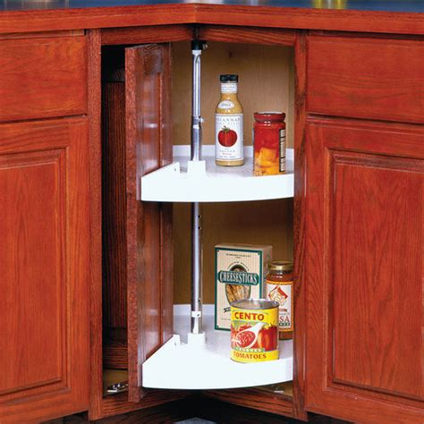 Lazy Susan Cabinet Doors Knape Vogt Polymer Door Mount Pie Cut Lazy Susans Kitchensource