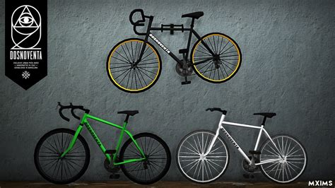 mxims dosnoventa bicycles pack 3 new meshes including
