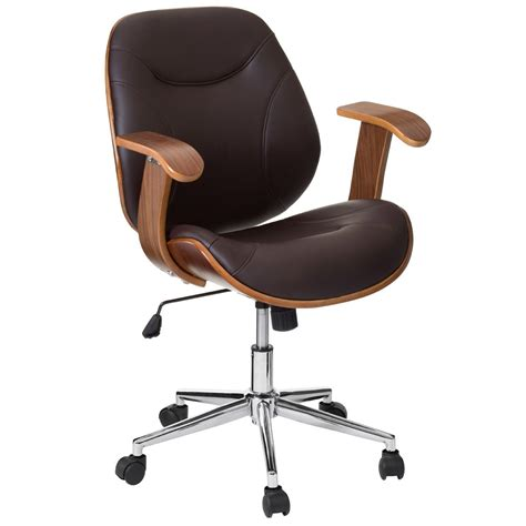 brown office chair modern contemporary study furniture
