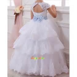 robe de mariage pour enfant cadeau fleur robe robe robe de fille de mariage d enfant wedding dress g ebay