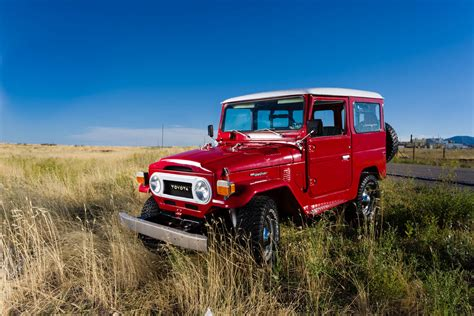 classic land classic restored toyota land cruiser from the 1970s dav
