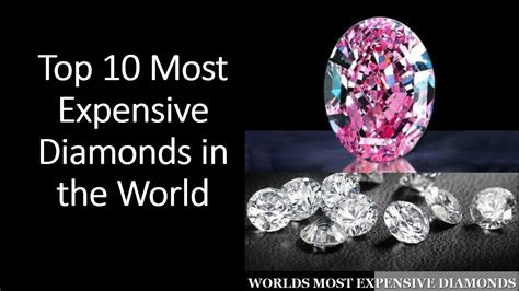 Would You Indulge In The Worlds Most Expensive Desserts by Top 10 Most Expensive Diamonds In The World