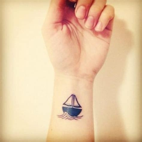 minimalist tattoo boat 22 colorful boat tattoo images and pictures gallery
