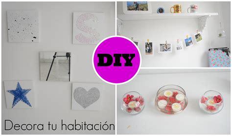 decorar tu habitacion diy diy ideas para decorar tu habitaci 243 n youtube