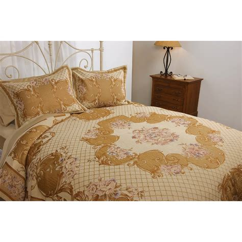 Tapestry Coverlet melange home verona tapestry coverlet set king 2779h save 50