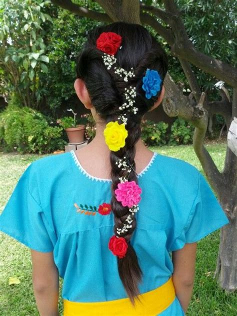 mexican wedding flower girl hairstyle mexican hair mexican hairstyles flower girl