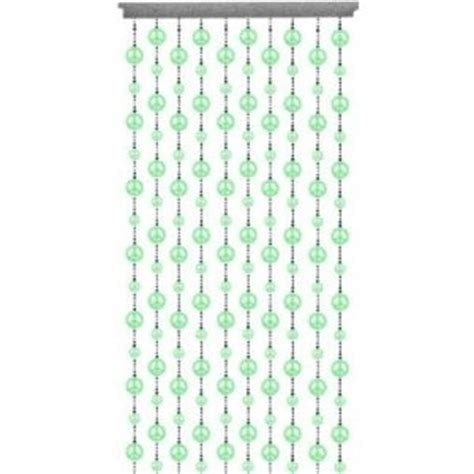 glow in the dark beaded curtains glow in the dark beaded curtain peace signs ebay