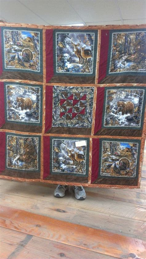 images  quilts hunting  pinterest quilt