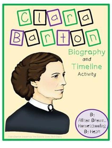 biography of clara barton clara barton biography and timeline activity cut and