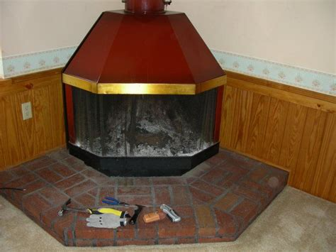 preway built in fireplace how do i paint my vintage metal malm or preway fireplace