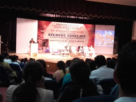 Mba Research Conclave by Student Conclave Bangalore Http