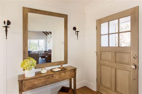 Sensational Black Entryway Table Decorating Ideas Gallery Mirror In Front Of Door