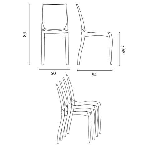 sedie trasparenti in policarbonato sedie cucina e bar trasparenti policarbonato impilabile