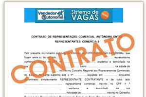 download: modelo de contrato de representação comercial