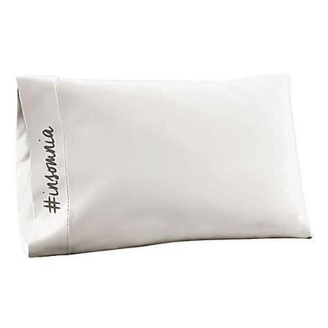 jersey knit pillowcases buy t shirt jersey knit insomnia standard pillowcase in